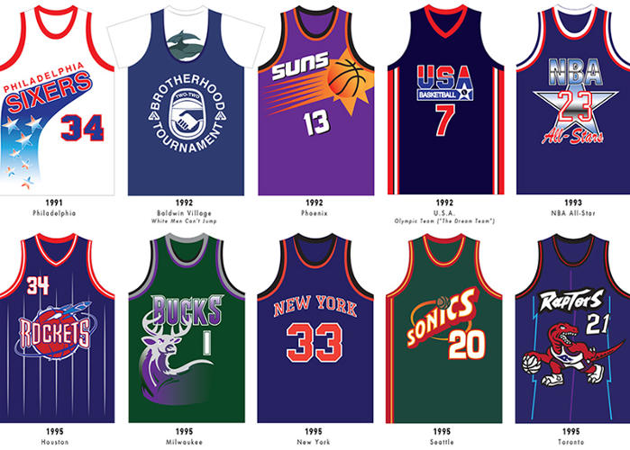 Gallery For gt Cool Nba Jerseys 2014